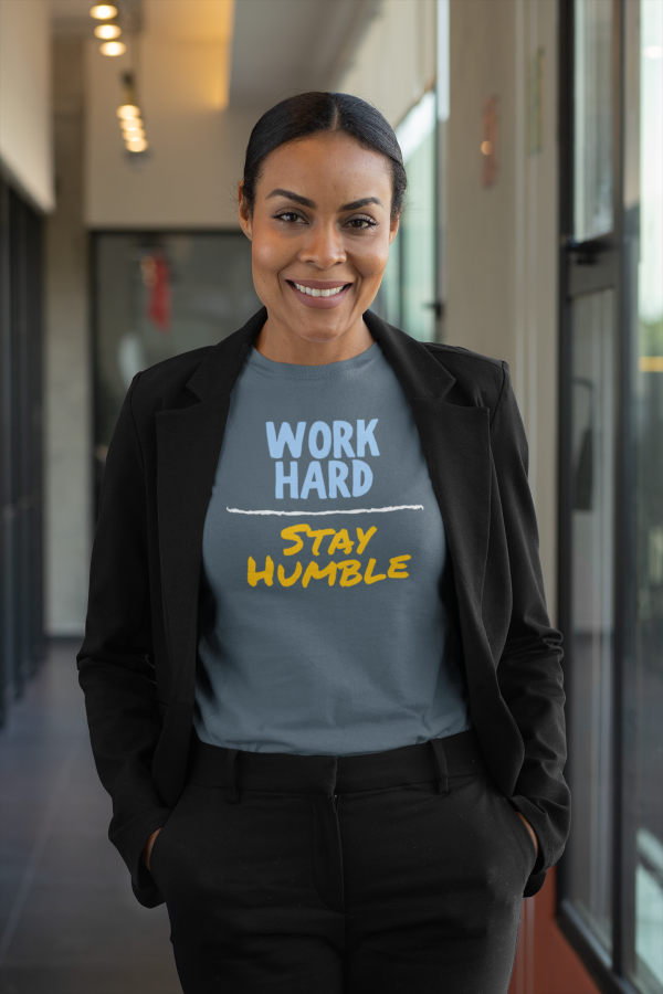 t shirt mockup featuring a professional woman 31701
